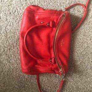 9041db8670fe ... QUILTED BOMBER JACKET KATE SPADE SATCHEL (LIKE NEW) ...